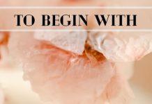 To Begin With - Shreya Vijay